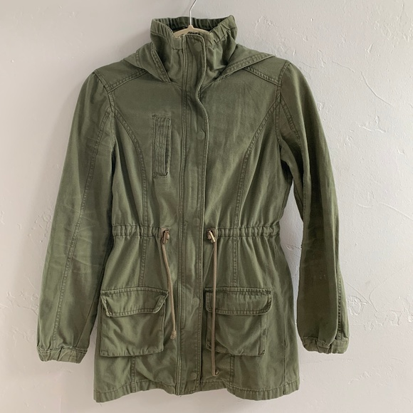 Cotton On Jackets & Blazers - Cotton On Army Green Military Style Jacket XS